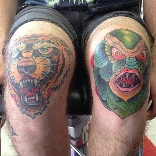100 Famous Knee Tattoo Designs And Ideas On Knee: 63 Best Knee Tattoos Images On Pinterest