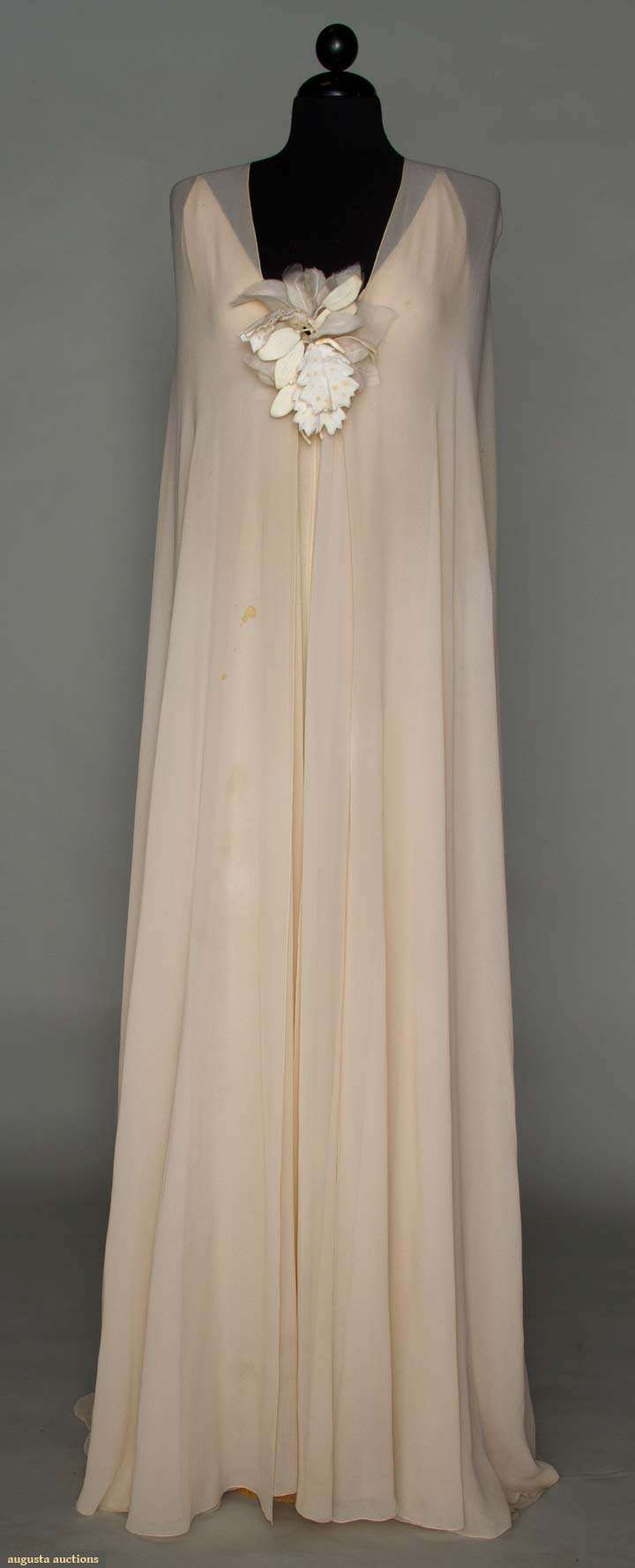 DIOR COUTURE EVENING GOWN, 1974