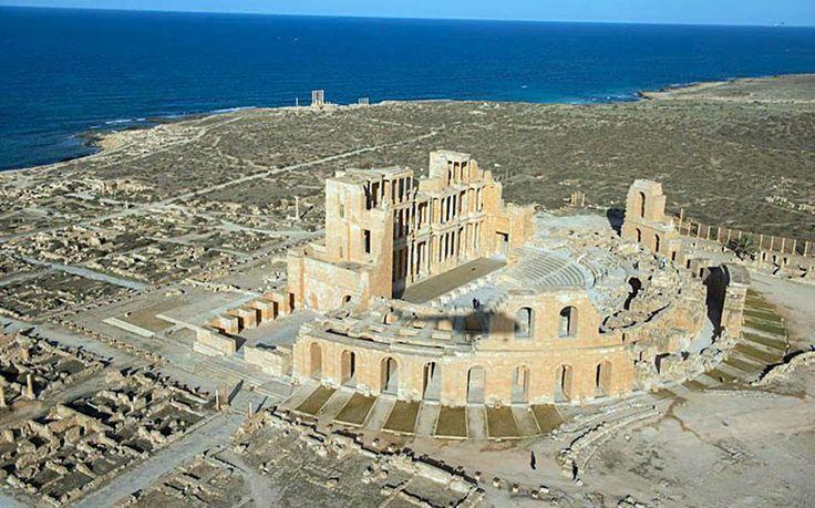 Teatro Romano de Sabratha, Trípoli, Líbia