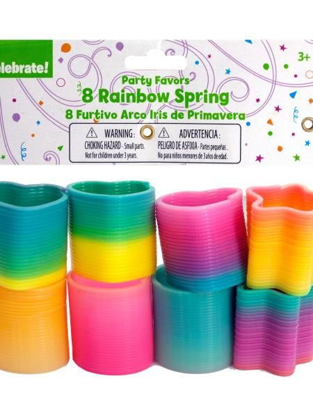 Rainbow Springs Party Favors (Available in a pack of 24)