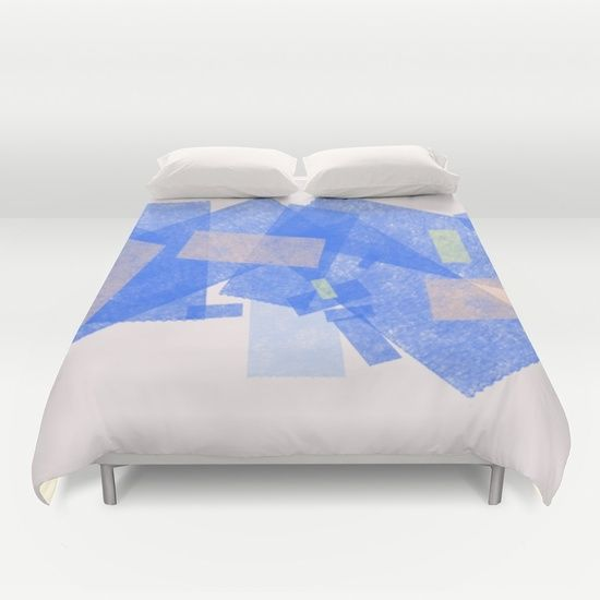 Color Geometry II Duvet Cover