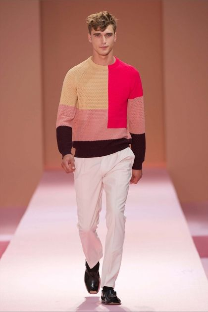 Paul Smith | Men's Spring/Summer 14 Show. www.designerclothingfans.com