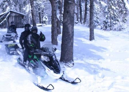 Snowmobiling In Sudbury Ontario