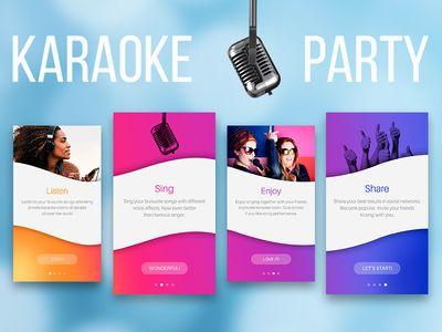 Karaoke Party app features overview