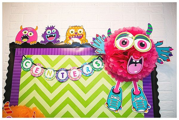 Monster Bulletin Board Letters                                                                                                                                                                                 More