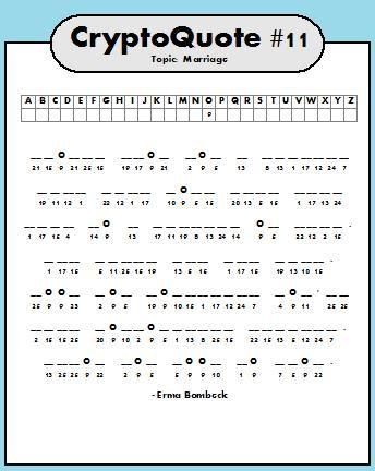 It's just an image of Juicy Cryptogram Puzzles Printable