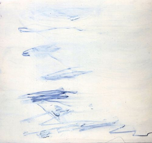 cy twombly - poems to the sea