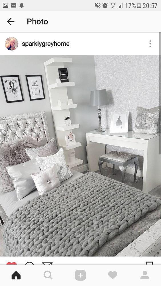 35 stilvolle gemütliche funktionale Schlafzimmer-Ideen für jugendlich Mädchen