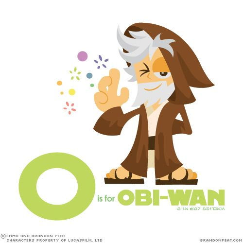"""Star Wars Alphabet: O is for Obi-Wan Kenobi! """"The boy is dangerous. They all sense it. Why can't you?"""""""