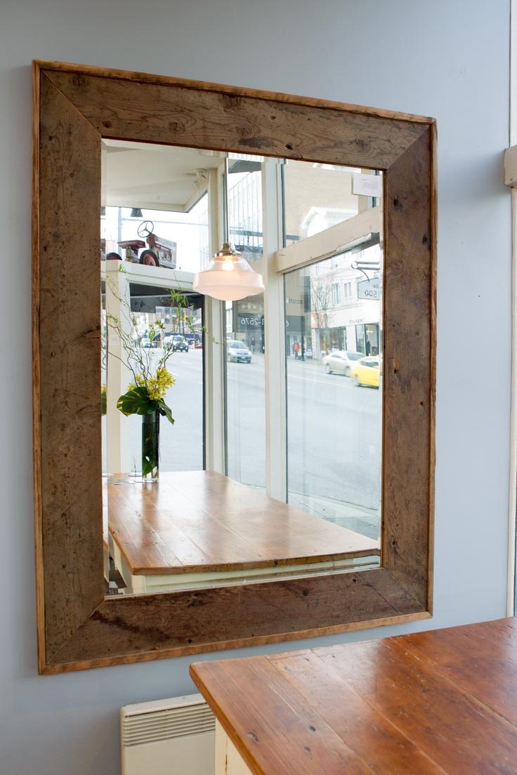 reclaimed wood custom mirror vancouver 1295