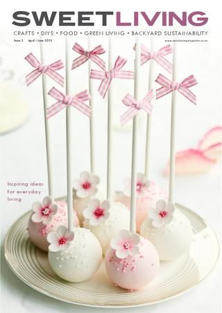 Sweet Living magazine. Gorgeous free downloadable templates, tags, boxes and more! Lovely crafts and recipes.