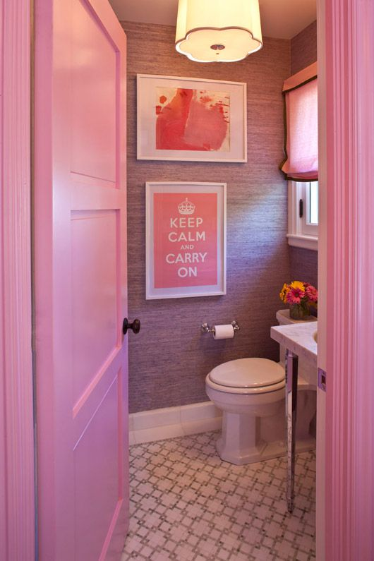 Best Bathrooms Images On Pinterest Bath Bathroom - Pink bathroom decorating ideas
