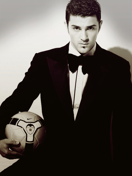 David Villa - One of the many soccer players I fancy after the last World Cup. ;)  Football players > (American) Football players. ;P