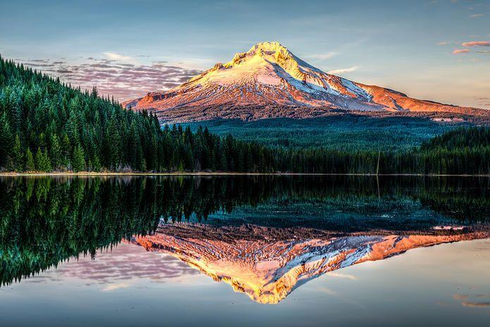 Mount Hood National Forest, Trillium Lake