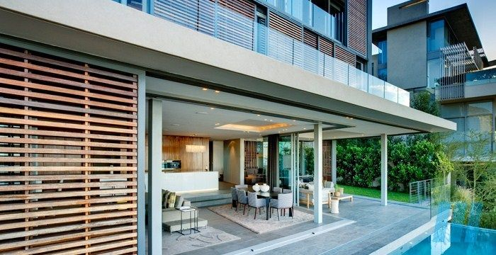 FutureSpaces - Head Road 1816 - Fresnaye. This is a remarkable site with amazing views; and it was critical that as large a living area was created with strong connections to the outside living spaces.