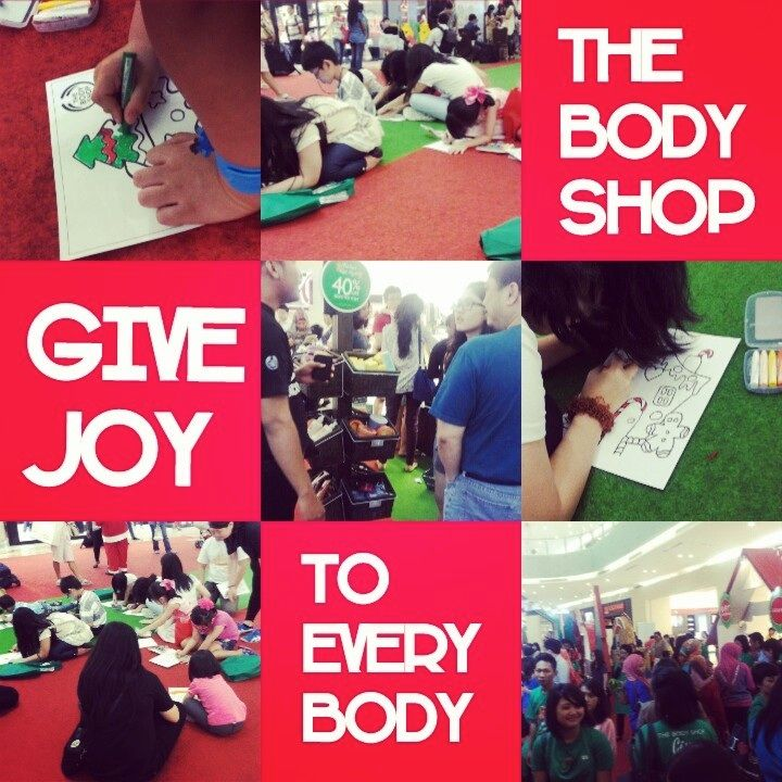 Coloring Competition #Coloring #Kids #TBSGiveJoy @The Body Shop Indonesia @CiputraWorldSBY
