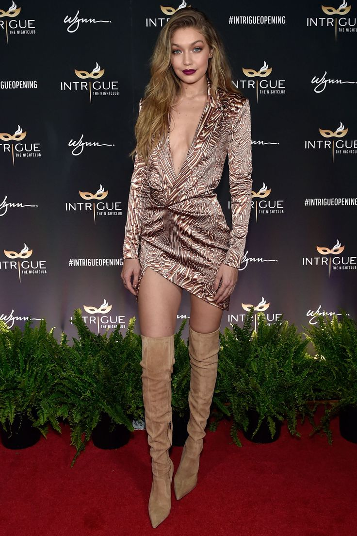 Gigi Hadid Continues Her Birthday Celebration in Las Vegas