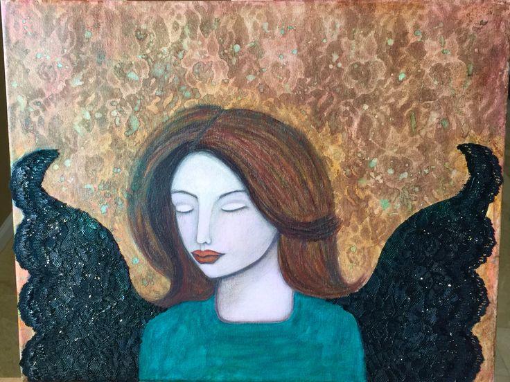 "Angels Among us Class by KatGale. ""Angel of sorrow"""