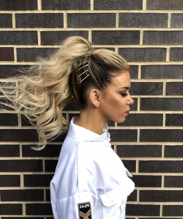 feeling fierce   hairstyle by goldplaited   ponytail   hair accessories   2019 t...   - everyday + professional hairstyles   goldplaited - #Accessorie...