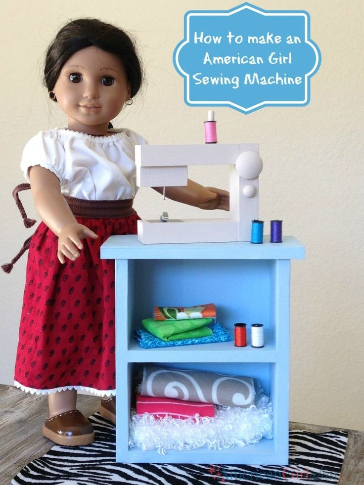 Diy American Girl Sewing Machine Ag Doll Accessories