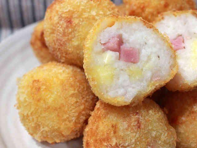 簡単♪ベーコンチーズはんぺんフライの画像