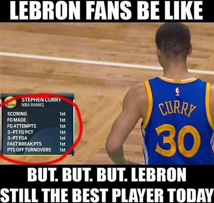 yea i hate lebron steph curry is my favorite and he is so much better