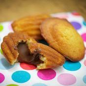 Madeleines surprise - une recette Gâteau - Cuisine