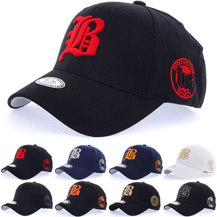 Unisex Mens Women Alphabet BS Logo Flexfit Baseball Trucker Cap Stretch Fit Hats…