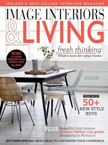 IMAGE Interiors Living Magazine March April 2015 Cover
