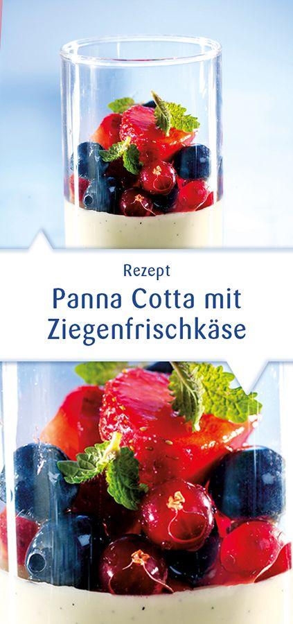 Ein Dessert-Traum aus frischen Beeren, frisch-würzigem Snøfrisk Ziegenfrischkäse und süßer Sahne. Beschwingt wie ein südlicher Sommertag und jede Sünde wert. Dieses Rezept und mehr unter http://www.snofrisk.de/rezepte.php