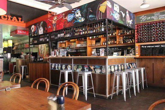 The Bar features art by local artist Gemma Allen
