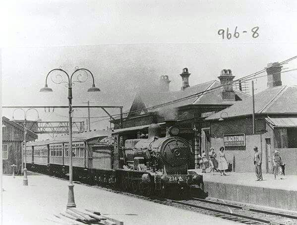 Blacktown Station with a C32 Class 4-6-0 Locomotive - 1955 was the 100th year since the Redfern to Parramatta Service. Blacktown Station has changed immeasurably in just 60 years, far more so than the preceding 60 to 1955. State Records NSW.