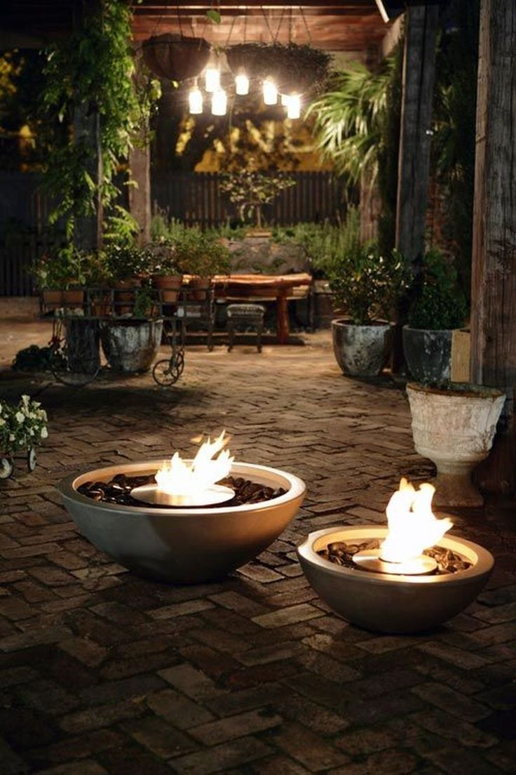 Amazing Firebowls #9: 36 Awesome Outdoor Fire Bowls To Add A Cozy Touch To Your Backyard