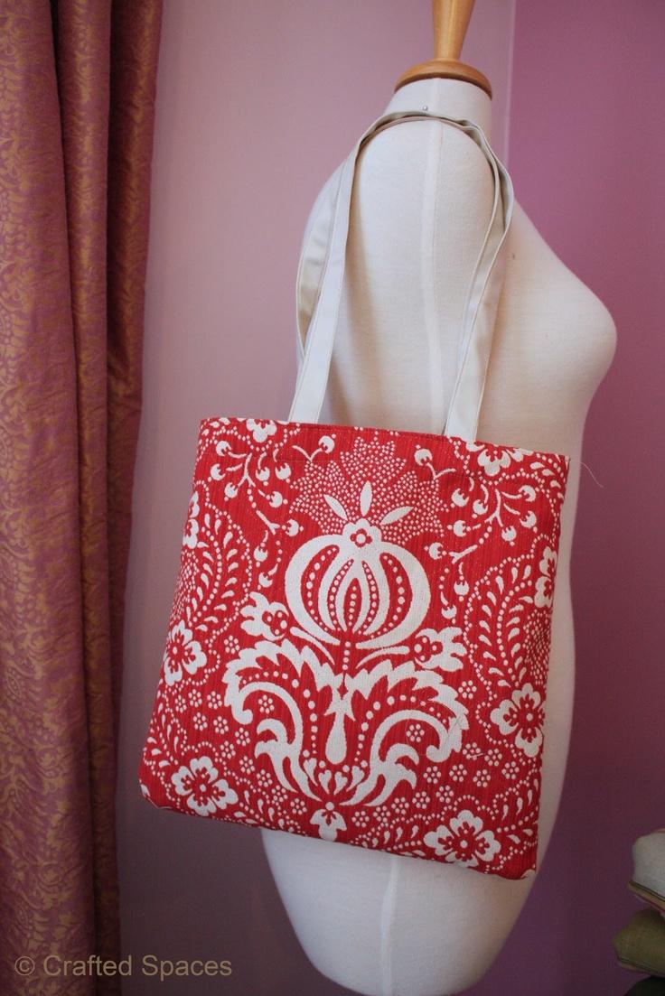 Crafted Spaces handbag making workshop #sewing