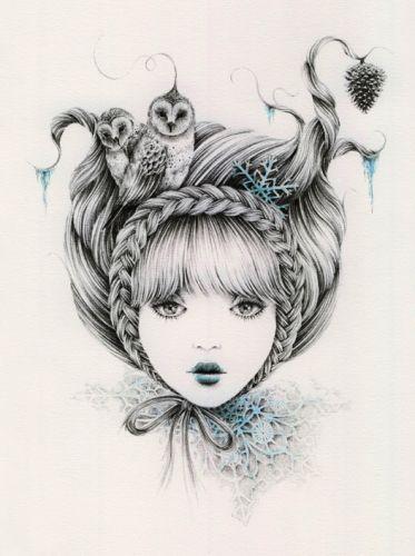 Snowflake ~ Courtney Brims
