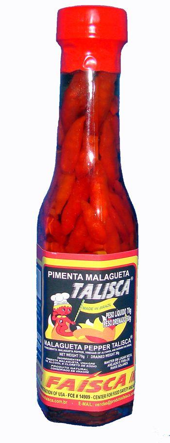 TALISCA Pimenta Malagueta 70 grs