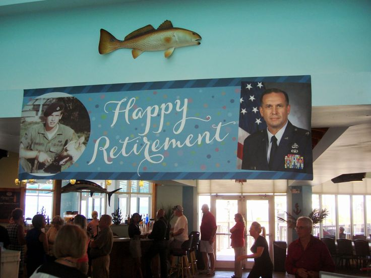 Entrance to Seascapes for Max's Retirement Part - MacDill Air Force Base