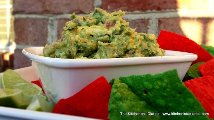 Classic Guacamole - The Kitchenista Diaries