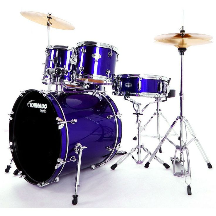 Mapex Tornado 20-Inch Fusion Drum Kit, Blue. #mapex #drumkit