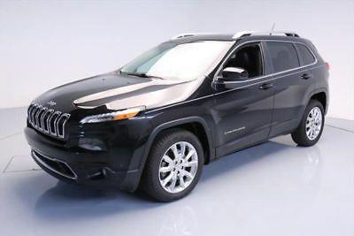 eBay: 2014 Jeep Cherokee Limited Sport Utility 4-Door 2014 JEEP CHEROKEE LIMITED HTD LEATHER NAV #jeep #jeeplife