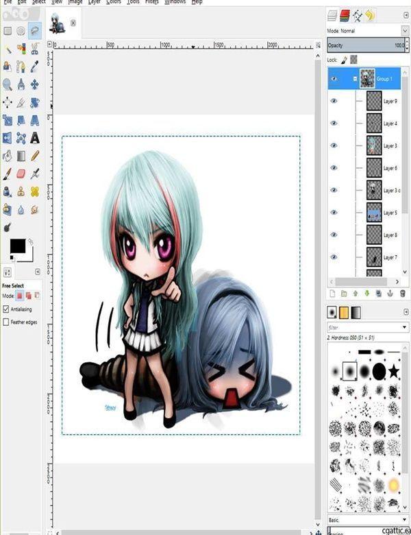 Computer Drawing Digital Paintings Digital Illustration In 2020 Free Drawing Software Drawing Software Free Drawing Programs