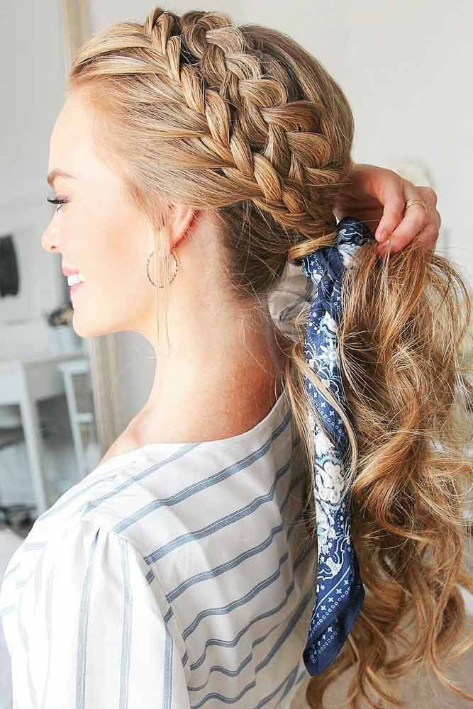 70 Crown Braid Styling Ideas With Images Headband Hairstyles