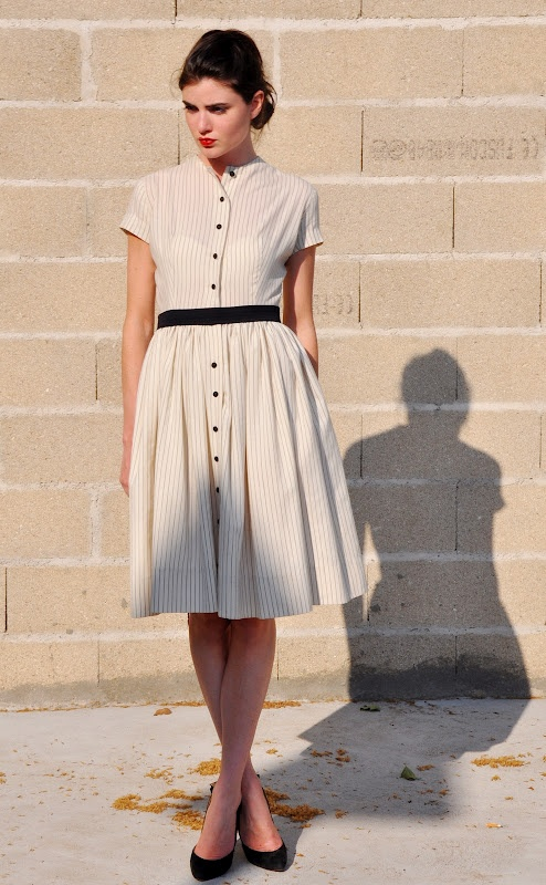 simple and feminine. If only I lived in a city where breezy dresses matched the weather.