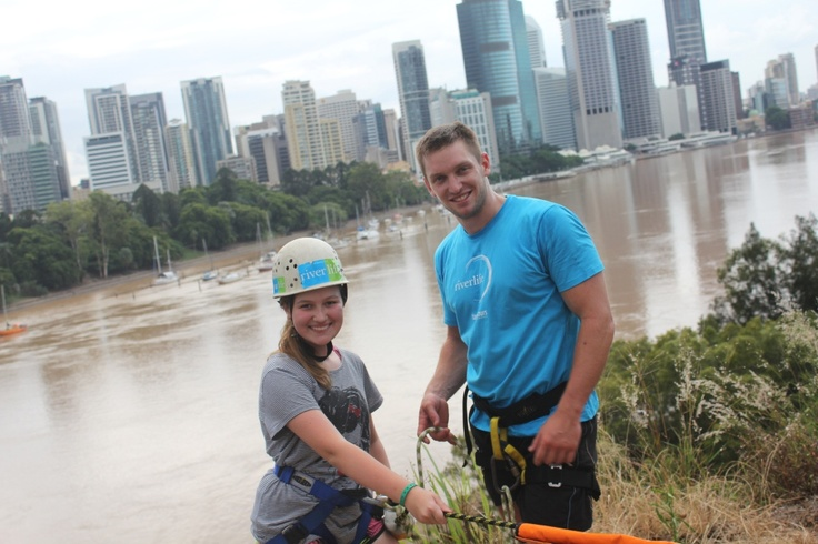 Step off the edge of the Kangaroo Point Cliffs and into a vertical world!
