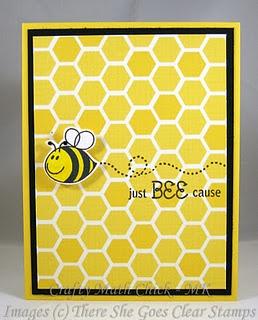 bee card idea