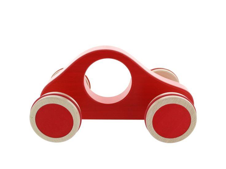 Ostheimer Lenki Maxi Auto aus Buchenholz, rot