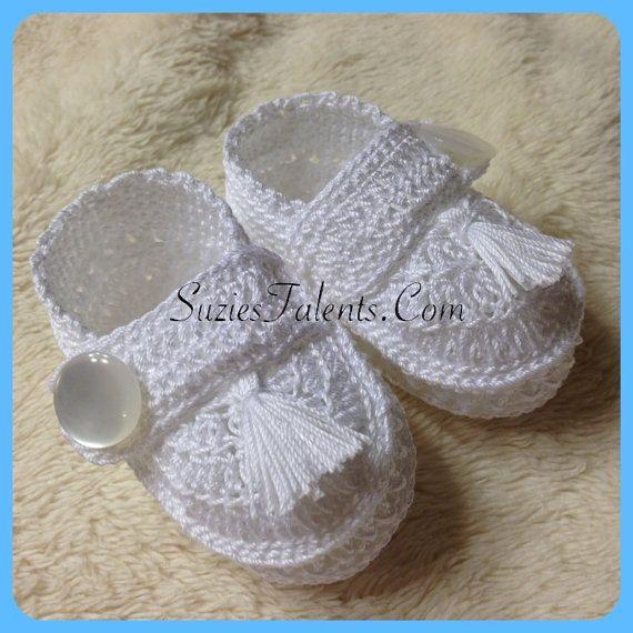 Free Crochet Pattern Christening Shoes : 100+ ideas to try about Crochet Crochet baby, Crochet ...