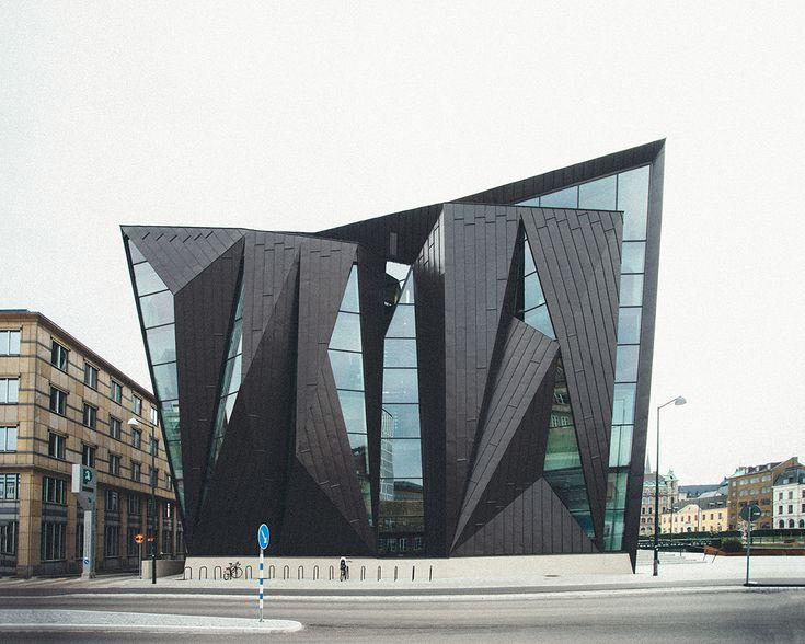 Tornhuset: World Maritime University, Malmö by Kim Utzon Architects and Terroir