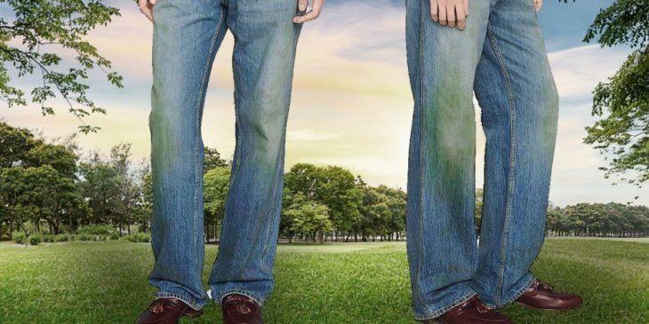 Gucci Lanza Estos Pantalones Deslavados Y Con Manchas De Pasto En 773 Dolares Nada Mas Gucci Pantalones Para Salir Pantalones
