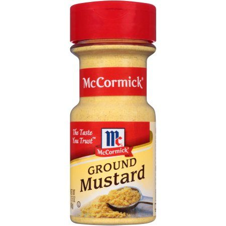 McCormick Ground Mustard, 1.75 oz